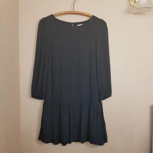 Anthropologie || black meadow rue dress